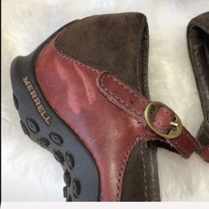 Merrell Shoes - Merrell walking leather shoes 5.5